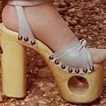 70's platform shoe