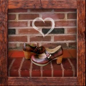 Dr Martens platform shoes