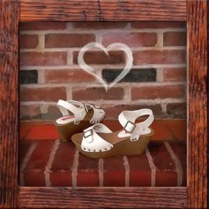 Kohls white platform sandals