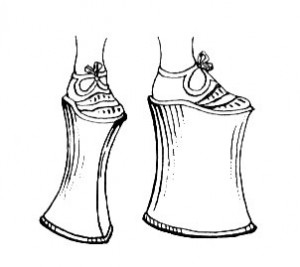 Chopines, Centuries Old European Shoes