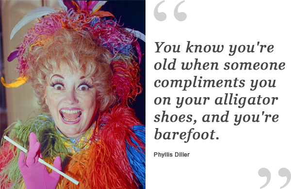 phyllis diller shoe quote