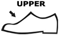 upper shoe material