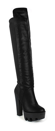 zulily black Laura Boot