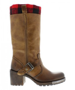 Camel Lieb Leather Boot