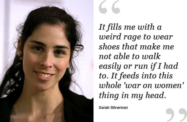 sarah silverman shoe quote