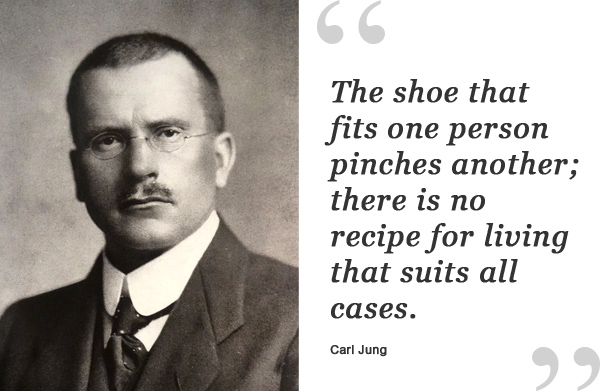 carl jung shoe quote